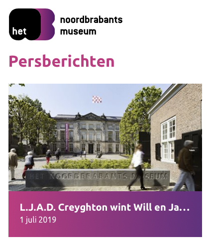 Noordbrabants Museum persbericht Creyghton